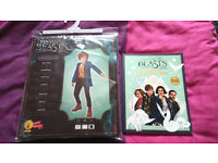 Fantastic beasts Costume and colouring creativity book brand new