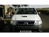 2009 (59) Toyota Hilux 2.5 D-4D HL2 Single Cab 4x4 diesel pickup. NO VAT !!