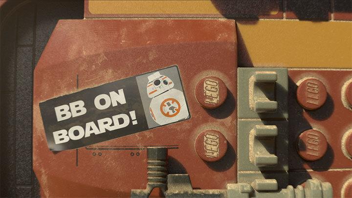 Nachwuchs für den Mythos: Das Lego-Spiel ist gespickt mit frischen Gags, dazu Zitate aus vier Kino-Jahrzehnten.(c) Lego