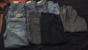 8 pairs size 10 boys jeans/pants, includes dockers dress pants