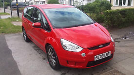 ford s-max very clean £2850. 7 seats parrot- hands free system aux- for audio