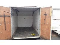 BOX TRAILER 4ft by 6ft 8