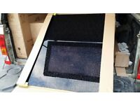 New splash back for cooker 900mm Cosmos black granite look