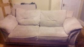 Two large two seaters sofa