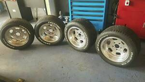 13x7 alloy wheels suit eh hr torana holden ej lc lh drag Daisy Hill Logan Area Preview