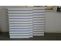 Slat wall Boards ( assorted boards available )