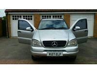 Mercedes ML270cdi 7seater