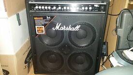 Marshall MB4410 4x10 bass combo 450 watts