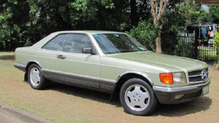 1982 Mercedes-Benz 380 Coupe Eastern Heights Ipswich City Preview