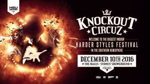1x KNOCKOUT CIRCUZ SYDNEY $110 Cabramatta West Fairfield Area Preview