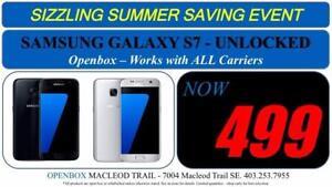 Samsung Galaxy S7 32 GB Factory Unlocked With Full Warranty. OpenBox Macleod Sale!