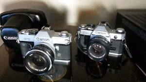 Wanted, old 35mm film cameras