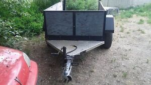 Older heavy duty 4x8 utility trailer