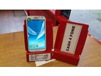 GALAXY NOTE 2, 16GB, UNLOCKED, WITH CHARGER