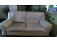 Free sofa 3 seater & 2 seater leather