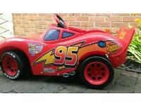Lightening McQueen battery operated car toddler
