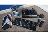 Playstation 3 (60GB) and lots of accessories.