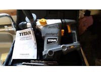 1500w SDS Drill, Laser Tool Kit, Jigsaw, Sander + variety of tools and toolbox
