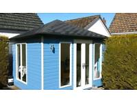 New high quality garden rooms summer houses sheds and offices