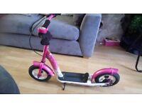 """pink bikestar 10"""" scooter"""