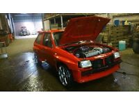 Vauxhall Nova wide arch red top