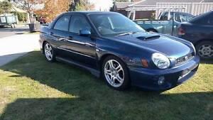 2002 Subaru WRX Sedan Manual Sunbury Hume Area Preview