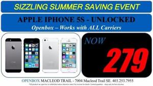 Apple IPhone 5S, 16 GB Factory Unlocked With Warranty. OpenBox Macleod Sale!
