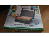Salter EK2009 Marble Collection Ceramic Health Grill and Panini Maker