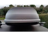 halfords roof box - 5ft x 3ft - approx 420 ltrs