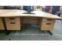 Modern Wave Ergonomic Office Desks
