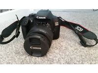 Canon Eos 1300D Digital SLR camera - as new, only a month old