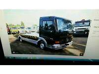 Recovery Mercedes Atego Low Milage