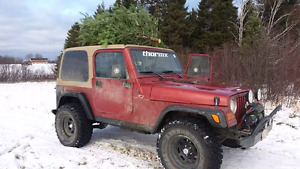 1999 jeep tj $4000 NEED GONE