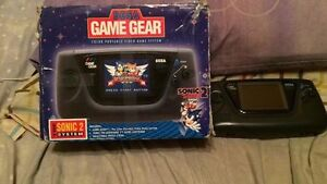 Sega Game Gear Console with box - NOT WORKING