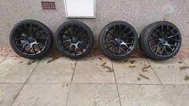 8.5 & 9.5 x18 3sdm's black
