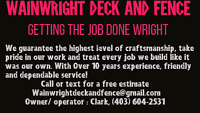 Deck And Fence company booking estimates