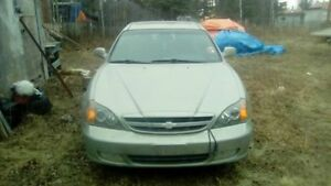 Selling AS-IS fully loaded 2004 Chevy Epica (needs Engine work)