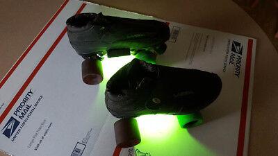 Lights For Roller Skates (Skate Lights for Quad or Inline Roller Skates - Extra Bright 3 Watt)