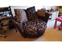 Large swivel armchair VGC ***Collection only***