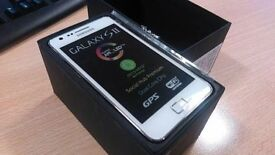 Samsung Galaxy S2 white Complete Boxed Fully working.