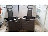 2 x Citroen Xsara Picasso/Berlingo Moduboxes ( fold up trolley box)