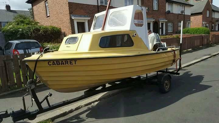 40hp suzuki 15ft boat and trailer