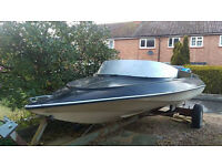 Speedboat Project and Good Boat Trailer