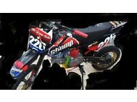 pitbike frame wanted with swing arm and front yok