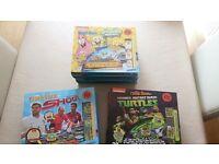 Wholesale Lot of 11 brand new Nickelodeon magic game books - Spongebob, TMNT & Shoot (Football)