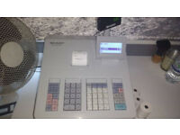 SHARP CASH REGISTER NEARLY NEW HARDLY USED