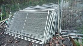 Heras fencing 3400mm X 2000mm, Used Condition.