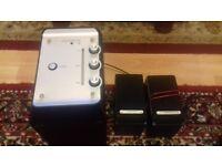 Zoostorm Amplifier & 2 Speakers. very loud!!