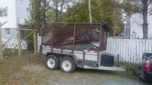Heavy Duty JDJ Dump Trailer