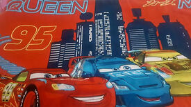 Disney cars single quilt cover